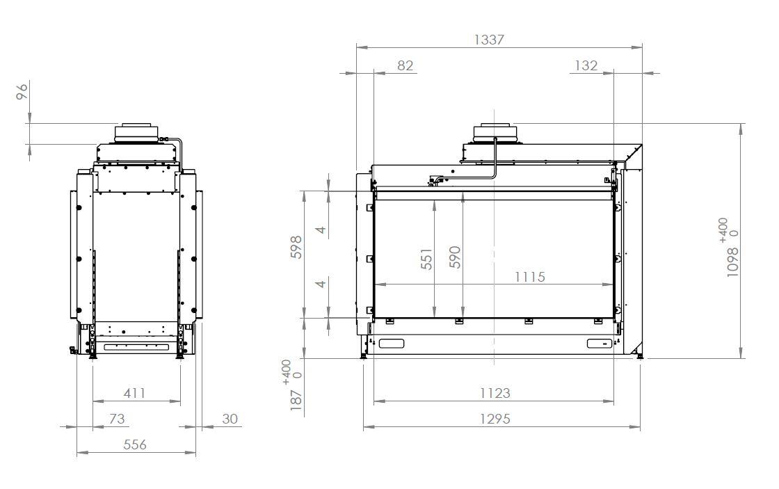 Kalfire Kalfire GP110/59 T GP110 59 T -schemat