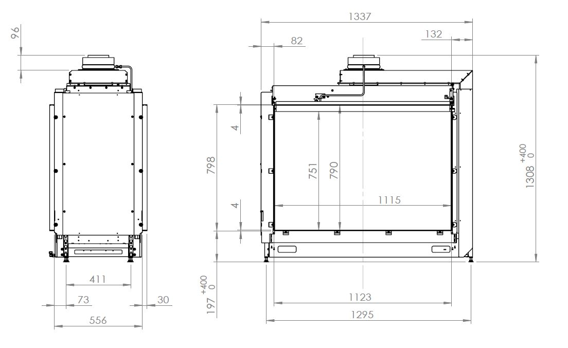 Kalfire Kalfire GP 110/79 T GP 110 79 T -schemat