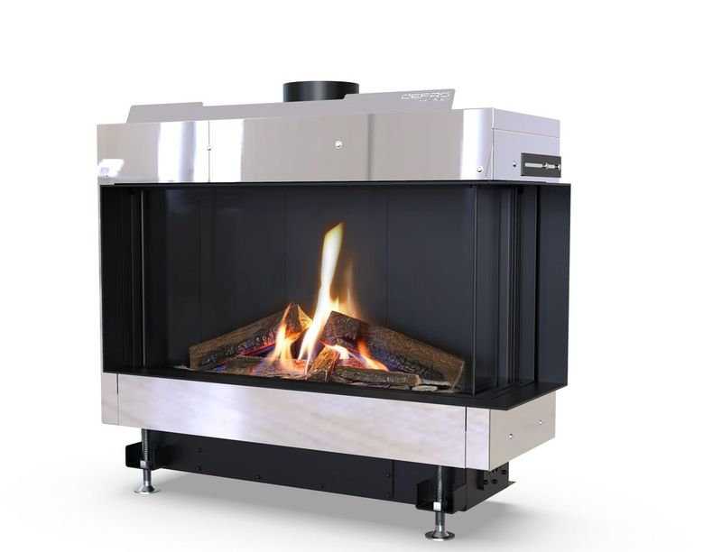 Defro Home Vital 37 S BL/BP Lewy lub Prawy wkład kominkowy gazowy Defro Home Vital 37 S BP- Prawy
