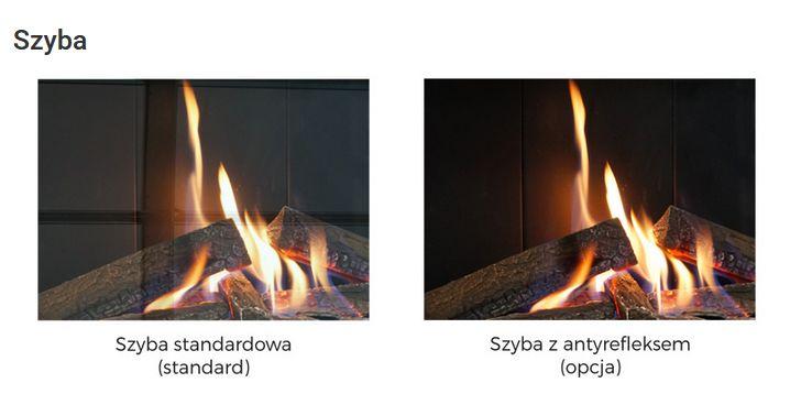 Defro Home Vital 37 S BL/BP Lewy lub Prawy porównanie szyba zwykła i szyba z antyrefleksem