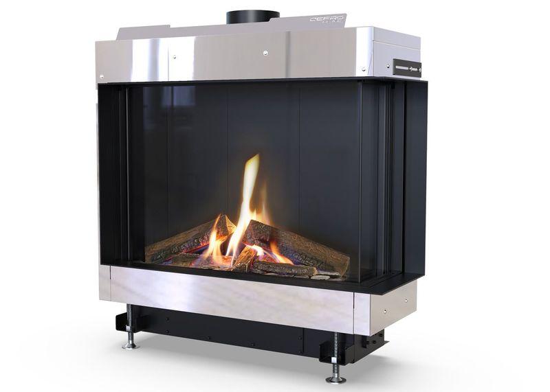 Defro Home vital_51_s_bl_bp_lewy_lub_prawy wkład kominkowy gazowy Defro Home Vital 51 S BP- Prawy